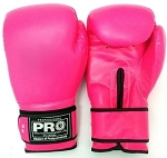 PRO BOXING GLOVES PINK