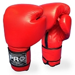 PRO BOXING GLOVES LEATHER