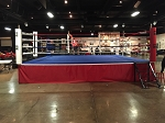 PRO BOXING OFFICIAL COMPETITION BOXING RING MADE IN USA