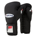 FIGHTING SPORTS PRO LACE-UP TRAINING GLOVES