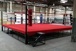 PRO BOXING RING CUSTOM MADE IN USA