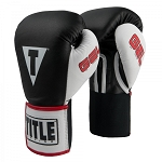 TITLE GEL WORLD ELASTIC TRAINING GLOVES
