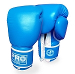 PRO BOXING TRAINING GLOVES LEATHER