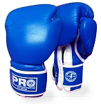 PRO BOXING LEATHER TRAINING GLOVES