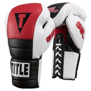 TITLE GEL RUSH LACE TRAINING GLOVES
