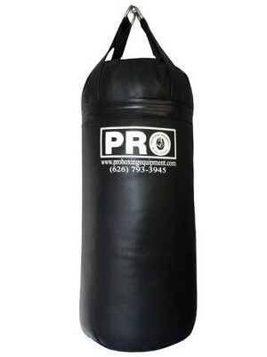 PRO BOXING EQUIPMENT 200 LBS HEAVY BAG LIFETIME WARRANTY MADE IN USA